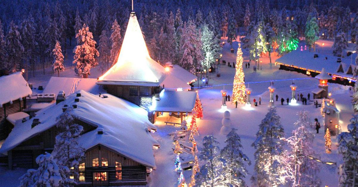 Новый год в Лапландии!