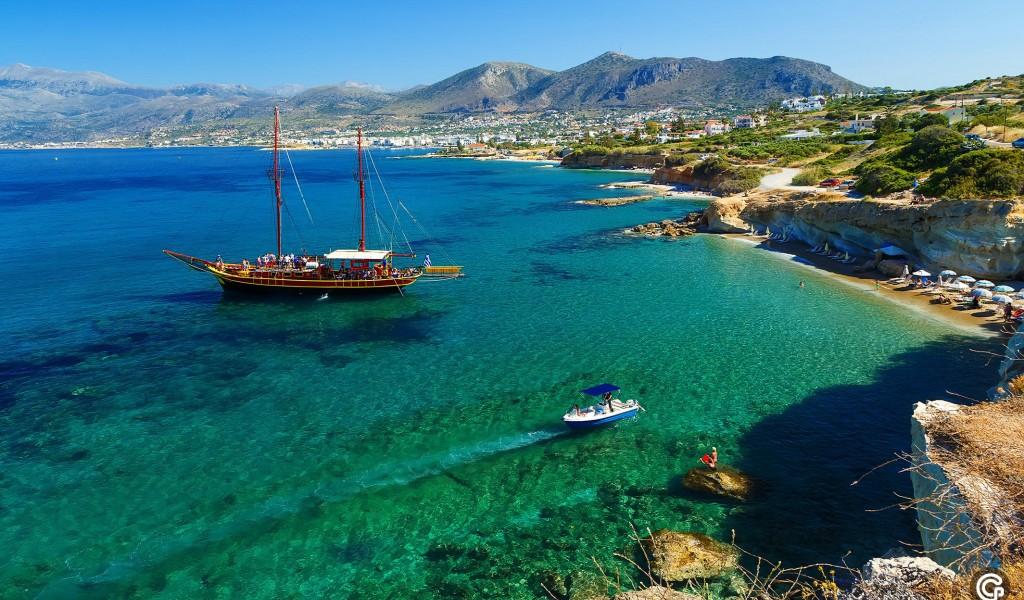 Горящий тур в Грецию, остров Крит. Стоимость от 235 евро с человека