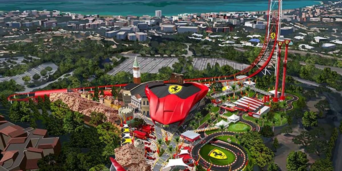 Открытие Ferrari Land в Испании (Салоу)!