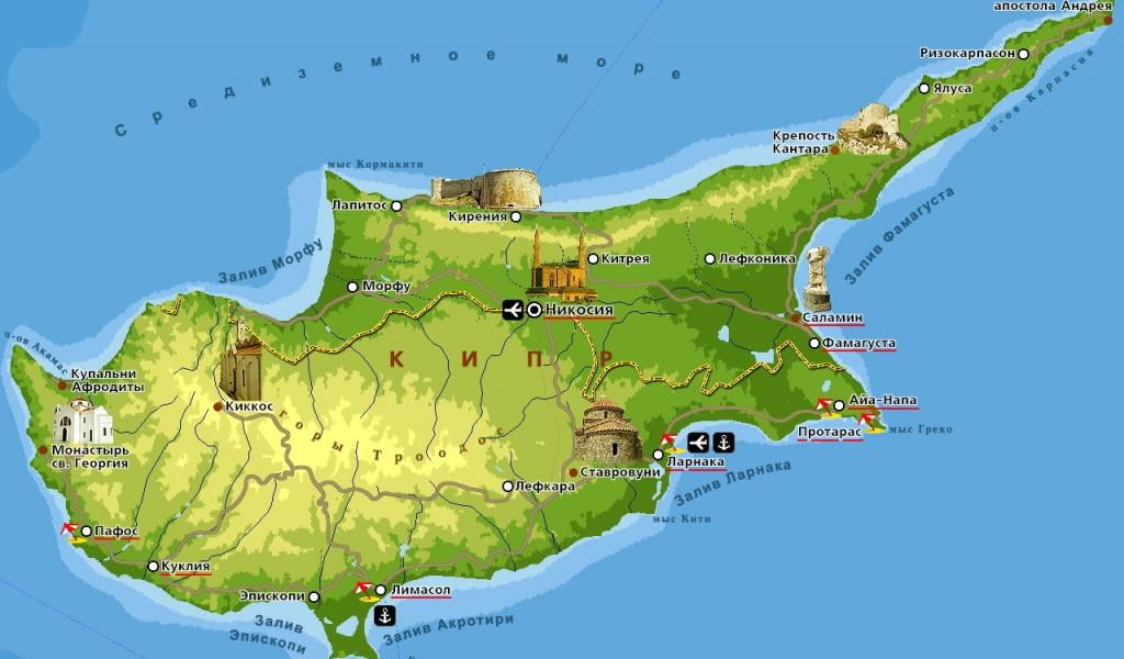 Горящий тур на Кипр с вылетом из Вильнюса, 7 ночей, завтраки-ужины, отель 4*, 1065 € за двоих взрослых и ребенкаа.